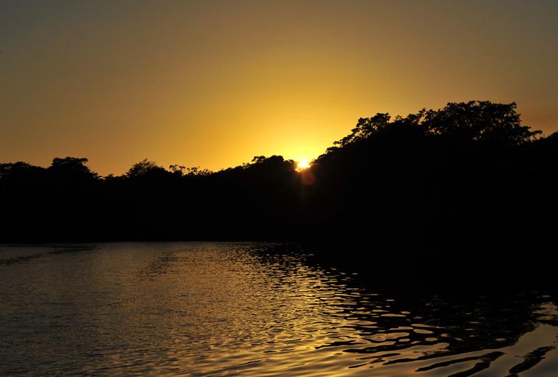 lamanai-sunset