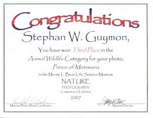 BYU award